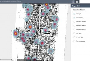 Interactive map created by students at Claremont Colleges